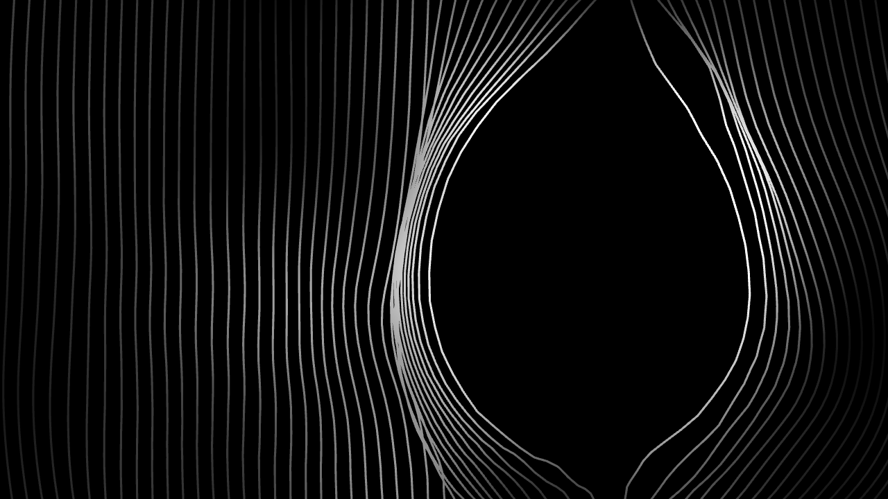 Touchdesigner Generative Animation - Black and White Lines