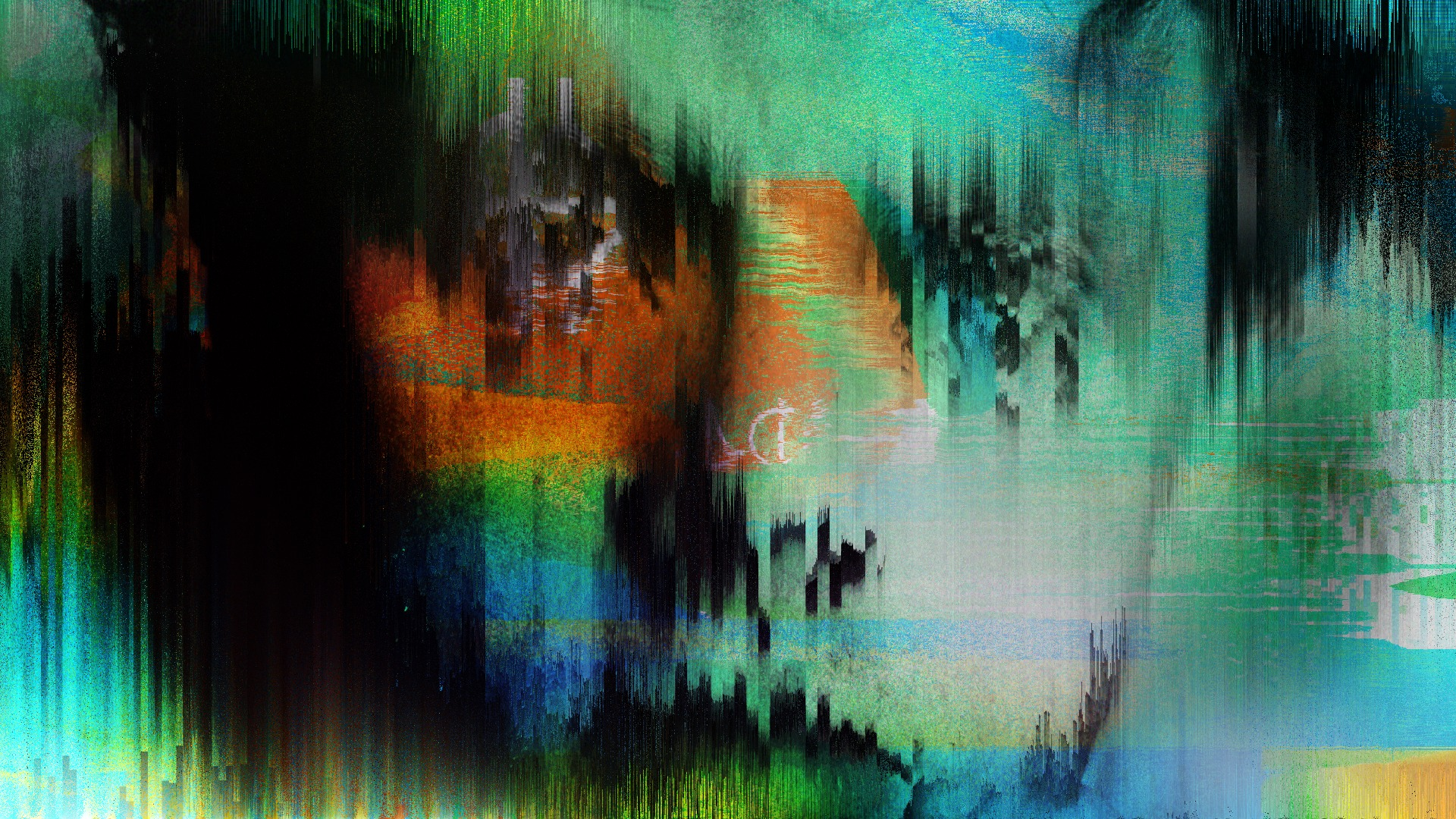 Glitch Art Humans - Styleframes and Live Visuals