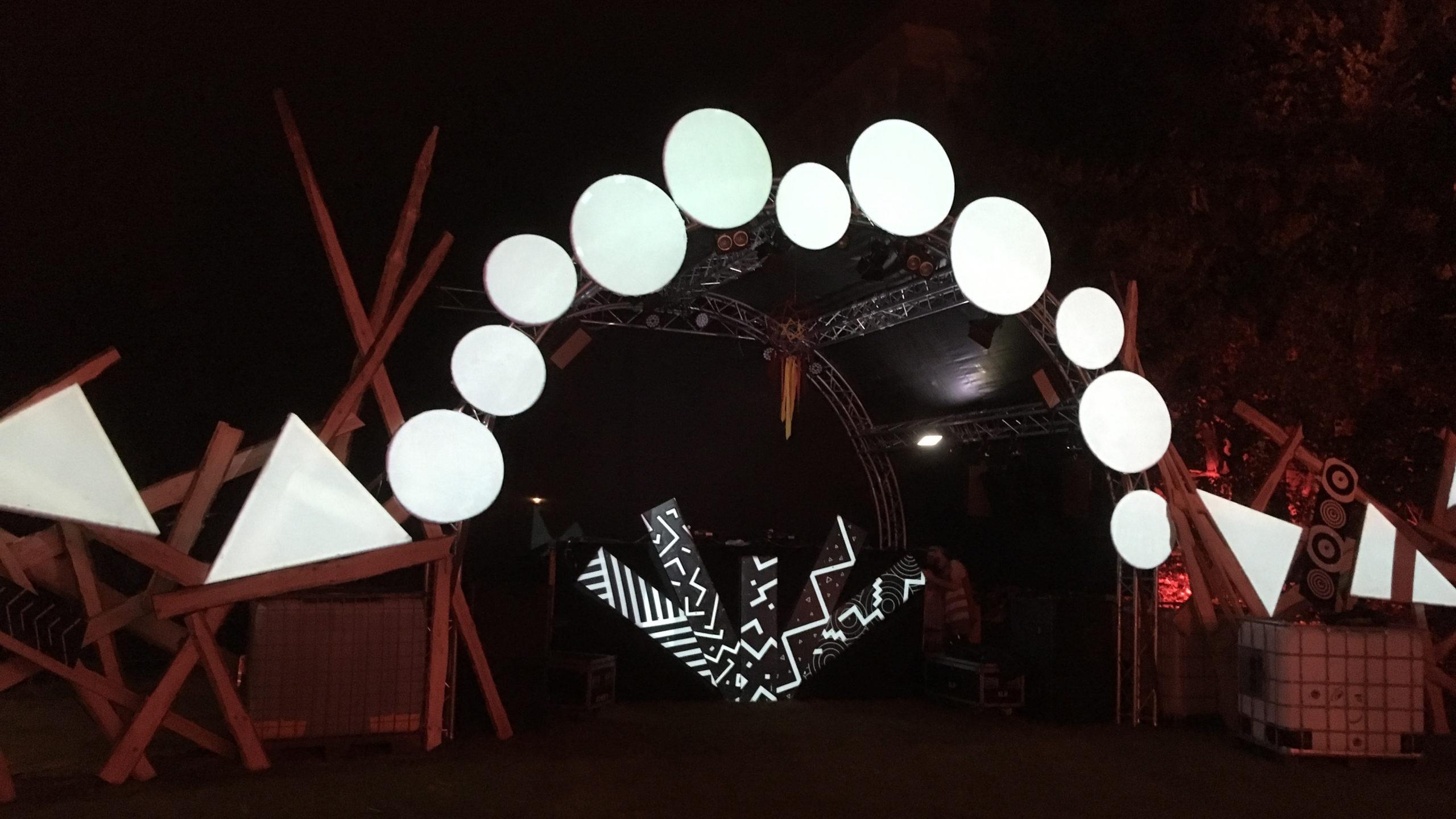 Taktraumfestival Bühne 2018