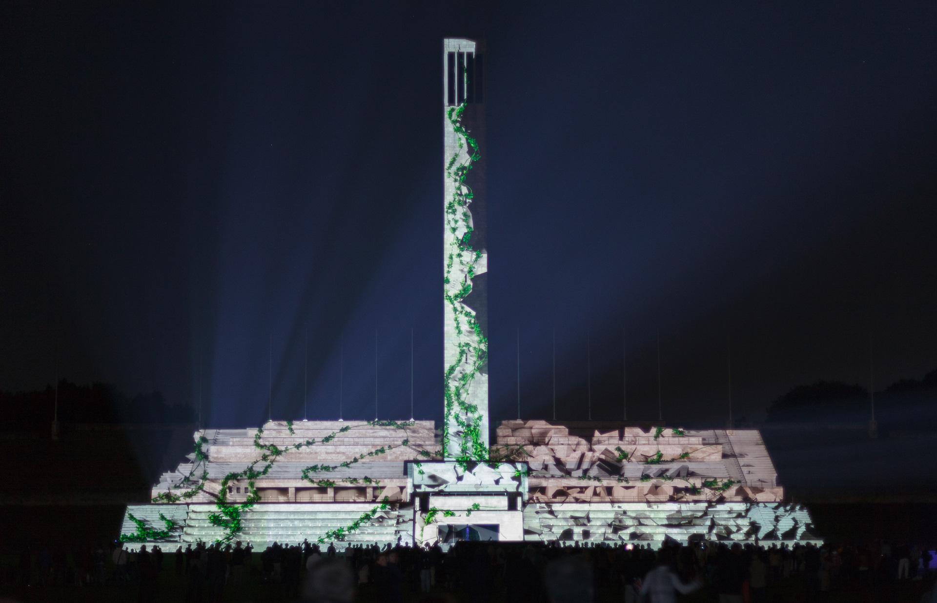 Intel 3D Tour - Projection Mapping - Berlin Turm