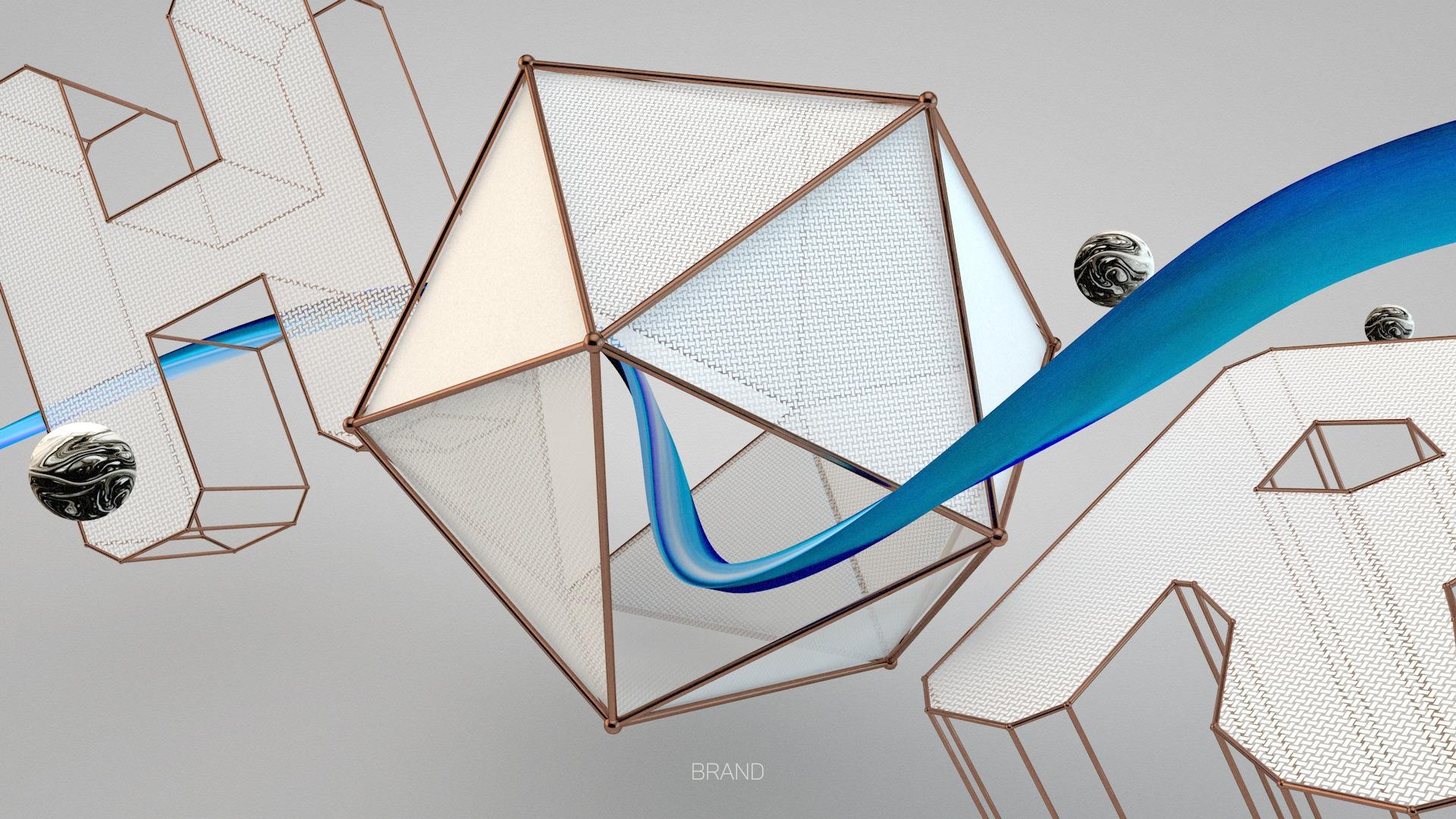 Stoffkonstruktion 3D Styleframe