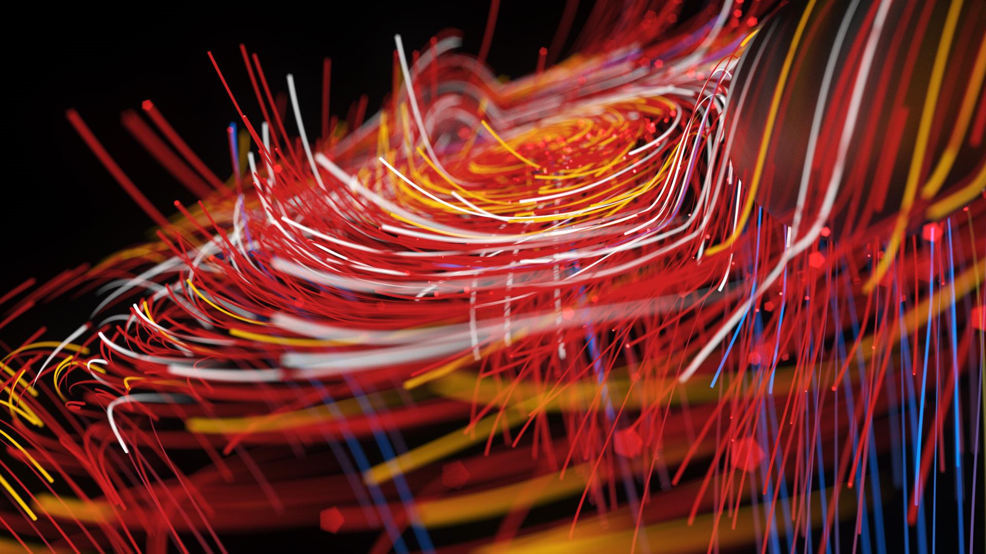 3D Particles Twister