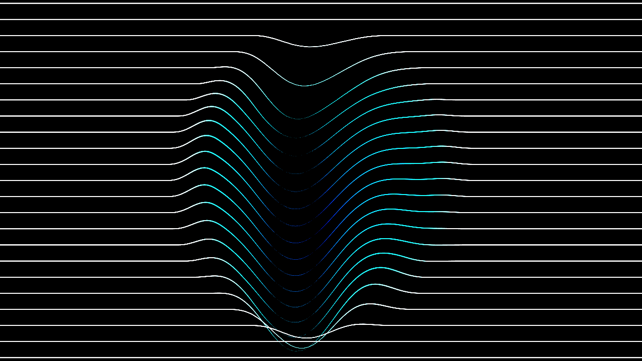 Line pattern produced by touchdesigner 01