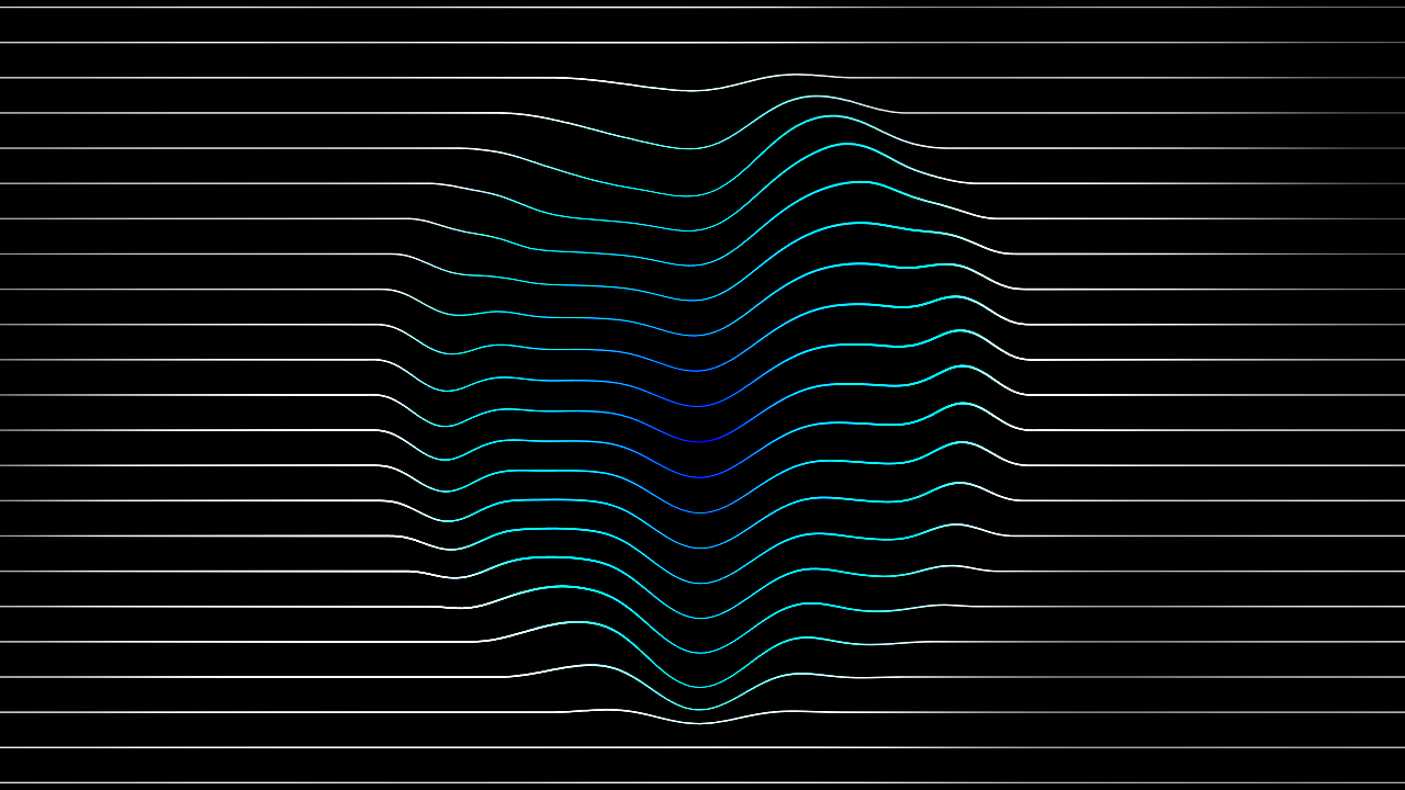 Line pattern produced by touchdesigner 03